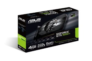 Placa De Vídeo Asus Geforce Gtx 1050 Ti 4gb Gddr5, Ph-gtx1050ti-4g