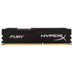 MEM DDR4 8GB 2400 KINGSTON HYPERX FURY BLACK  (unidade)