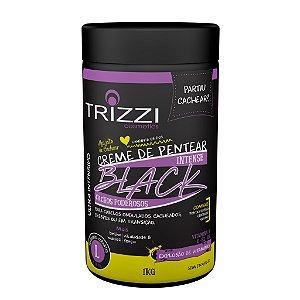 Creme de Pentear Intense Black Cachos Poderosos 1kg Trizzi