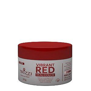 Máscara Vibrante Red Real Color 300g Trizzi