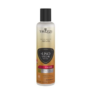 Shampoo Nature Master Argan +Liso - Volume 300ml Trizzi
