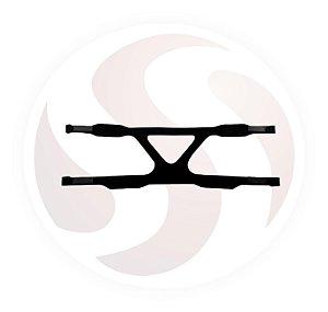 Fixador (arnês) nacional de neoprene para máscara de 4 pontas