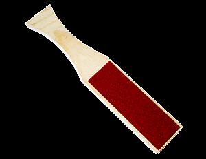 Lixa de madeira para pes