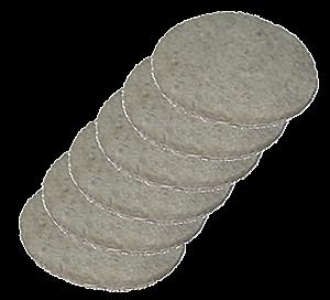 Feltro adesivo redondo 4.5cm