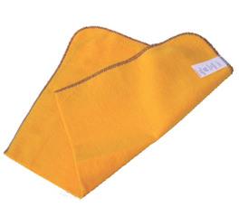 Flanela Para Limpeza 28 X 48 Laranja