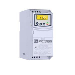 Inversor de Frequência CFW300 0,25cv 220v 1,6A Entrada Trifásica WEG