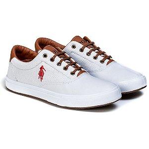 Tênis Masculino Polo Way Branco