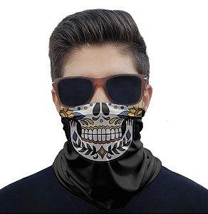 Máscara Bandana Caveira Mexicana 2
