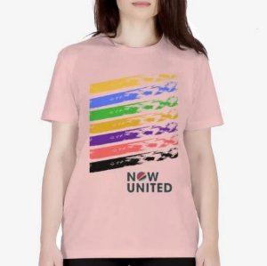Camisa Now United Cores Camiseta Manga Curta