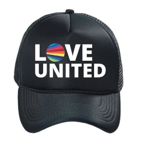Boné Trucker Love United