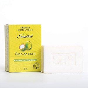 Sabonete Vegetal Cremoso Óleo de Coco 100g