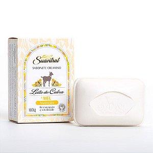 Sabonete Cremoso Leite de Cabra e Mel 100g