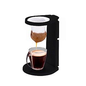 Coador de Café Mini Individual Filtro Malha Algodao Expresso Dobravel Expresso