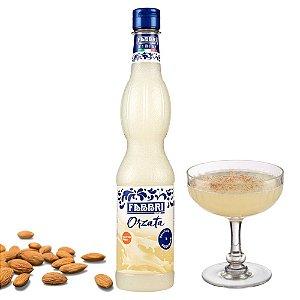 Xarope Para Soda Italiana Amêndoas Orzata Drink Café Bar FABBRI 560ml Coquetel Bartender Barista