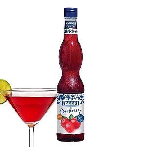 Xarope Para Soda Italiana Cranberry 560ml Fabbri 1905 Drinks Gin Bar Bartender Barman Coquetel