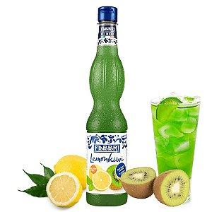 Xarope Para Soda Italiana Drink Gin Bar Fabbri Limão e Kiwi 560ml Bartender Coquetel Barman