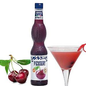 Xarope Para Soda Italiana Fabbri Amarena 560 ml Cereja Silvestre Drink Gin Bartender Barman Coquetel