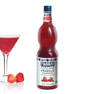 Xarope Para Soda Italiana Drink Bar Gin Fabbri Morango 1 Litro Coquetel Bartender Barman