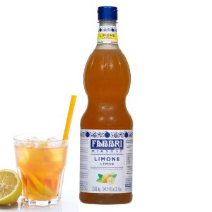 Xarope Para Soda Italiana Fabbri Limão Siciliano Mixybar Limone 1 Litro Drink Gin Coquetel Bar