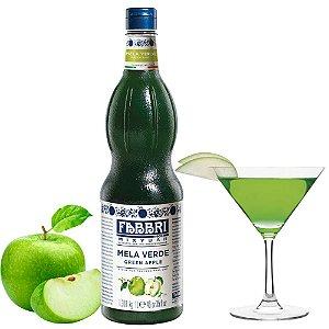 Xarope Para Soda Italiana Fabbri Maçã Verde 1 Litro Drink Coquetel Gin Bartender Barman