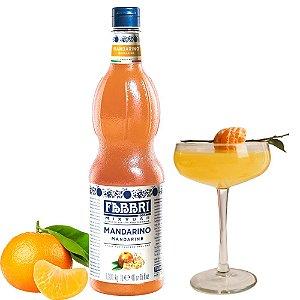 Xarope Para Soda Italiana Fabbri Tangerina 1 Litro Mandarin Drink Gin Bartender Barman Coquetel