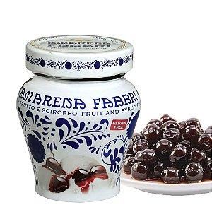 Cereja em Calda Silvestre Amarena Original Fabbri 230 g Produzido na Itália Doces Sobremesas