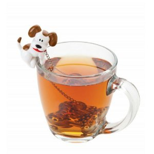 Infusor de Chá Joie Cachorro em Aço Inox