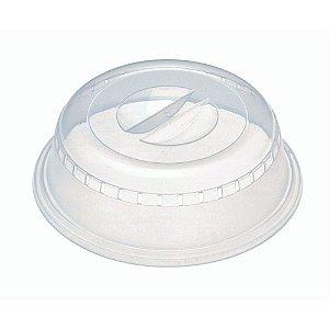 Tampa para Micro-ondas Progressive em Plástico - 18 cm - Transparente