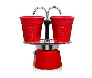 Cafeteira Mini Express 2 Xícaras Bialetti - Vermelha