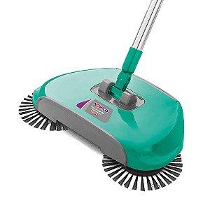 Vassoura Mágica Mop 360 Noviça Varredora Piso 3 X 1 Completa Bettanin Limpeza Seca