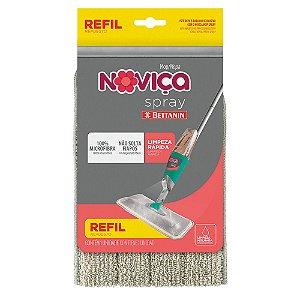 Refil Tecido Para Vassoura Mágica Spray Mop Noviça Bettanin BT191R