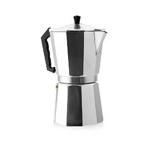 Cafeteira Italiana em Alumínio Mimos Para 3 Cafezinhos Dispensa Uso Filtro Papel Chá ou Café