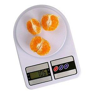 Balança de Cozinha Eletrônica Digital SF-400 Com Visor em LCD Alta Precisão Pilha AAA Incluída