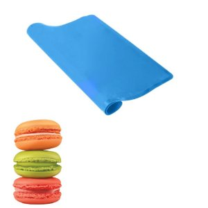 Tapete de Silicone Folha Antiaderente Forno Assar Zenker Não Gruda 230ºC Azul Cookies Macaron Confeitaria
