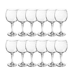Jogo 12 Taça Para Gin Tonica Vinho Vidro Transparente 620ml Borgonha Coquetel Bar Gran Vino Premiere