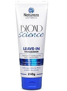 LEAVE-IN FINALIZADOR BLOND SCIENCE - 250G - NATUREZA COSMÉTICOS