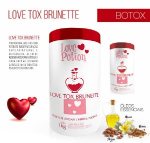 LOVE POTION + LOVE BRUNETTE - REDUTOR DE VOLUME 1Kg