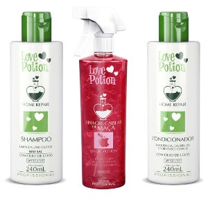 HOME CARE ÓLEO DE COCO + VINAGRE DE MAÇA 300ML - LOVE POTION