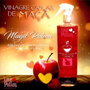 Vinagre Capilar de Maça 500ml - Love Potion