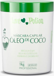 MÁSCARA CAPILAR OLÉO DE COCO 1k - LOVE POTION