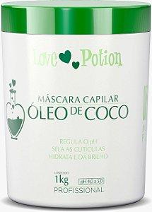 MÁSCARA CAPILAR OLÉO DE COCÔ 1k - LOVE POTION
