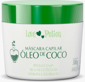 MÁSCARA ÓLEO DE COCÔ  250g - LOVE POTION