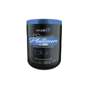 Po Descolorante Platinum blue