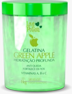 GELATINA GREEN APPLE -  1kg