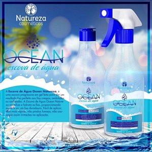 OCEAN . Escova de agua ( natureza cosmeticos )