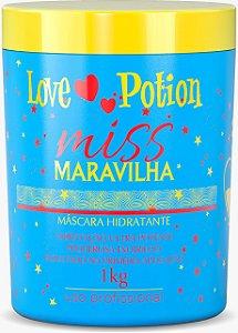 MÁSCARA MISS MULHER MARAVILHA 1 Kg - LOVE POTION