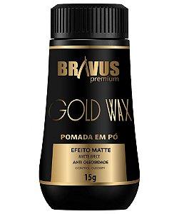 POMADA EM PÓ GOLD WAX BRAVUS PREMIUM 15G