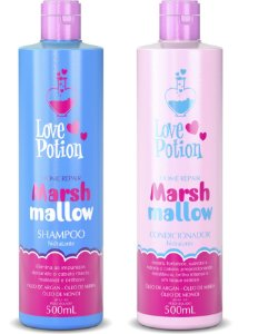 HOME CARE MARSHMALLOW - SHAMPOO E CONDICIONADOR 500ML - LOVE POTION