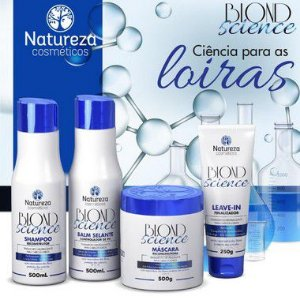 BLOND SCIENCE - KIT NATUREZA COSMÉSTICOS