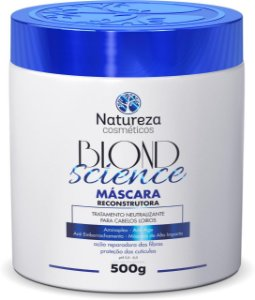 MASCARA BLOND SCIENCE 500g Natureza Cosmeticos